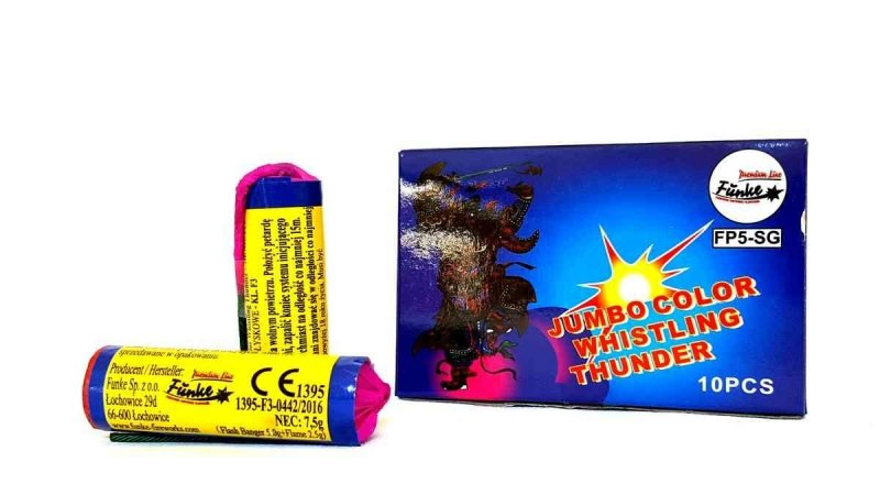 Jumbo Color Thunder 10 ks