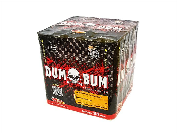 Dum Bum 25 rán / 30 mm