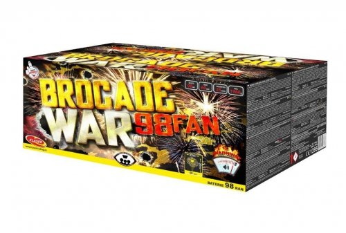 Brocade war 98 rán / 25mm – fan shape